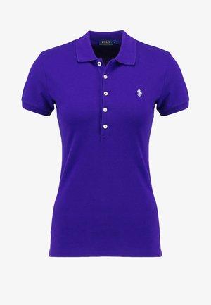 JULIE SHORT SLEEVE SLIM FIT - Poloshirt - chalet purple