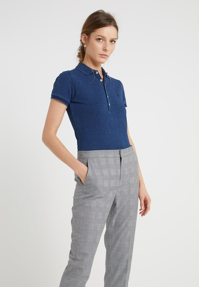 JULIE SHORT SLEEVE SLIM FIT - Polo - dark indigo