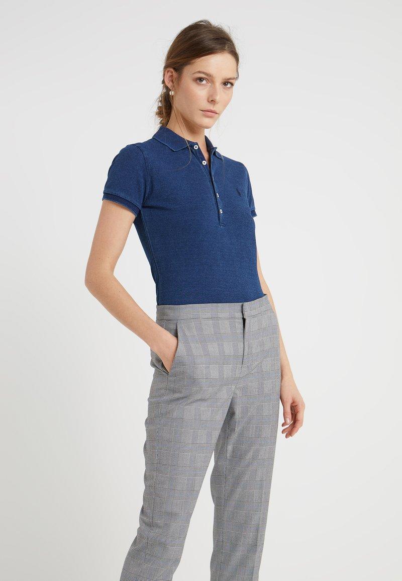 Polo Ralph Lauren - JULIE SHORT SLEEVE SLIM FIT - Polo shirt - dark indigo