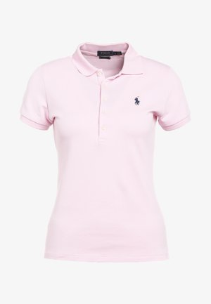 JULIE SHORT SLEEVE SLIM FIT - Polotričko - country club pink/navy