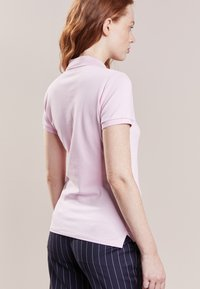 Polo Ralph Lauren - JULIE SHORT SLEEVE SLIM FIT - Polo - country club pink/navy - 2
