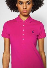 Polo Ralph Lauren - JULIE SHORT SLEEVE SLIM FIT - Poloshirt - accent pink - 5
