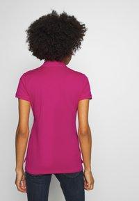 Polo Ralph Lauren - JULIE SHORT SLEEVE SLIM FIT - Poloshirt - accent pink - 2