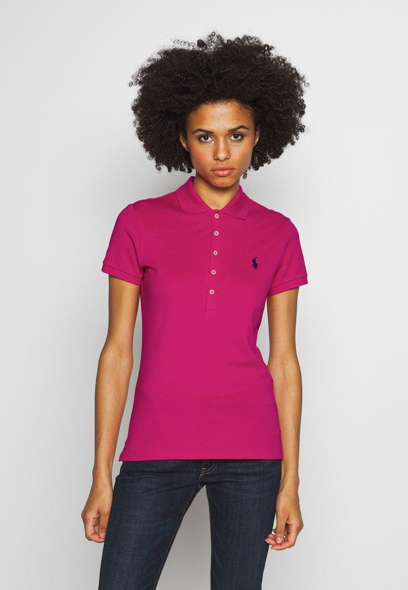 Polo Ralph Lauren - JULIE SHORT SLEEVE SLIM FIT - Poloshirt - accent pink
