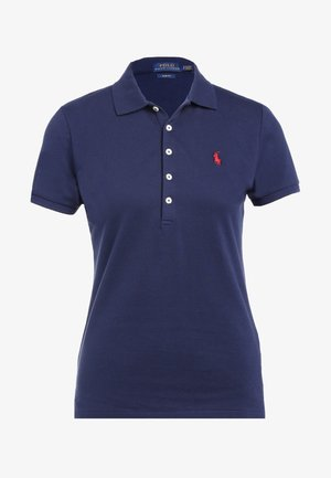JULIE SHORT SLEEVE SLIM FIT - Polotričko - newport navy