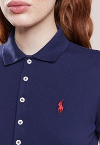Polo Ralph Lauren - JULIE SHORT SLEEVE SLIM FIT - Polotričko - newport navy - 3