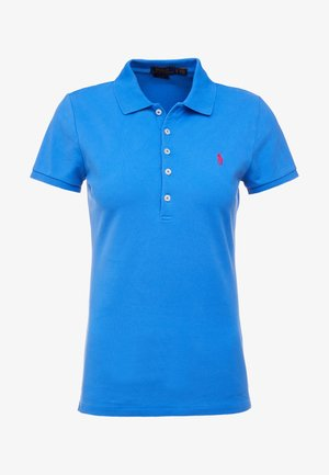 JULIE SHORT SLEEVE SLIM FIT - Polo - colby blue
