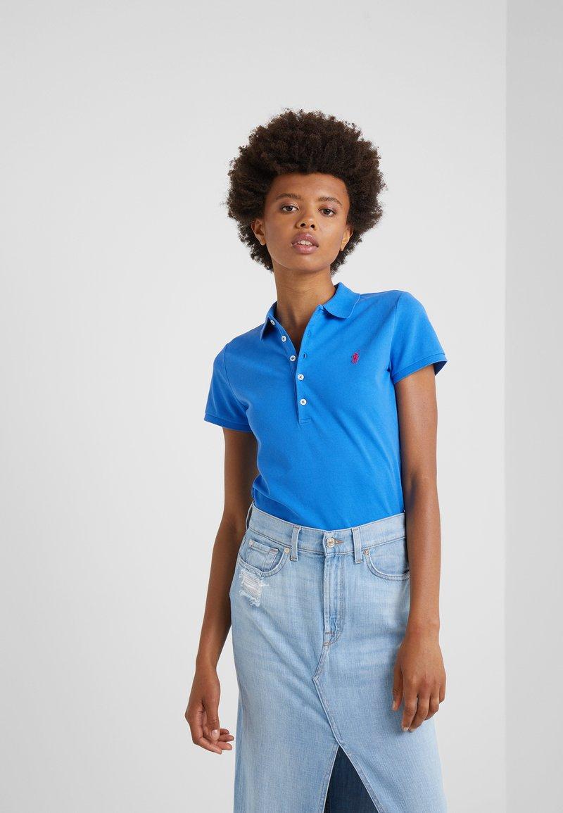 Lauren Short Blue Sleeve Julie FitColby Polo Ralph Slim 8OPnwk0
