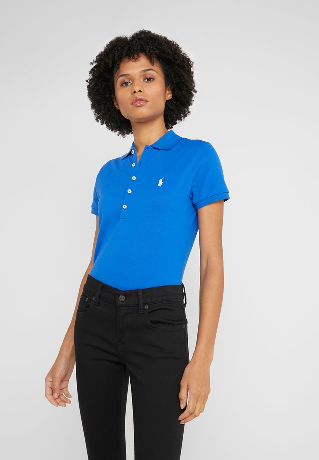 JULIE SHORT SLEEVE SLIM FIT - Polo - heritage blue