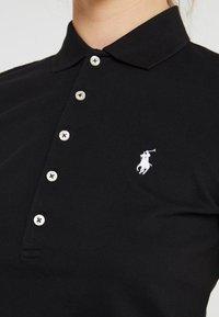 Polo Ralph Lauren - JULIE SHORT SLEEVE SLIM FIT - Poloshirt - black/white - 4