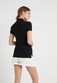 Polo Ralph Lauren - JULIE SHORT SLEEVE SLIM FIT - Poloshirt - black/white - 2