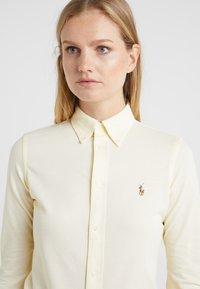 Polo Ralph Lauren - HEIDI LONG SLEEVE - Skjorte - wicket yellow - 3