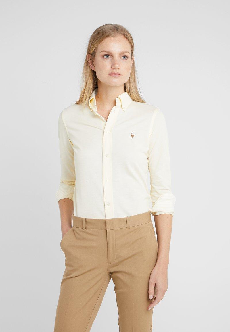 Polo Ralph Lauren - HEIDI LONG SLEEVE - Skjorte - wicket yellow