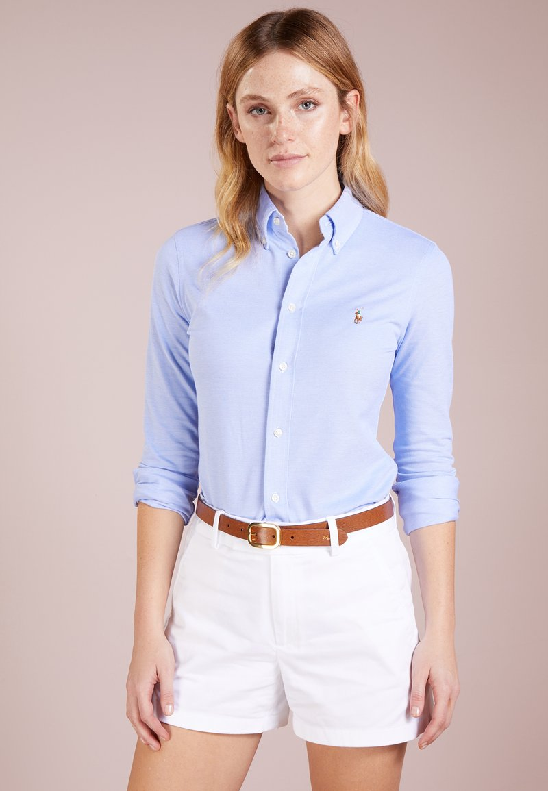 Polo Ralph Lauren - HEIDI LONG SLEEVE - Overhemdblouse - harbor island blue