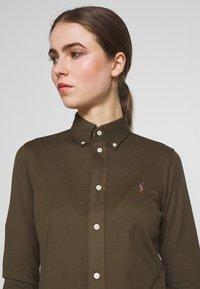 Polo Ralph Lauren - HEIDI LONG SLEEVE - Button-down blouse - defender green - 3