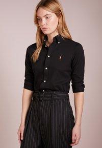Polo Ralph Lauren - HEIDI LONG SLEEVE - Button-down blouse - black - 0