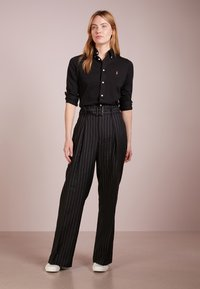 Polo Ralph Lauren - HEIDI LONG SLEEVE - Button-down blouse - black - 1