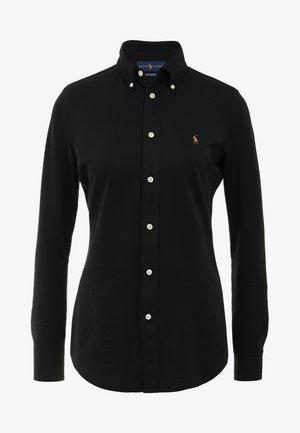HEIDI LONG SLEEVE - Skjortebluser - black