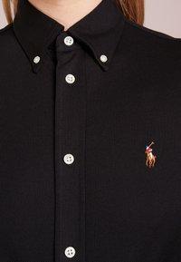 Polo Ralph Lauren - HEIDI LONG SLEEVE - Button-down blouse - black - 5