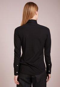 Polo Ralph Lauren - HEIDI LONG SLEEVE - Button-down blouse - black - 2