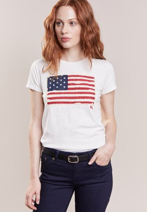 FLAG - T-shirt con stampa - nevis