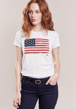 FLAG - Camiseta estampada - nevis