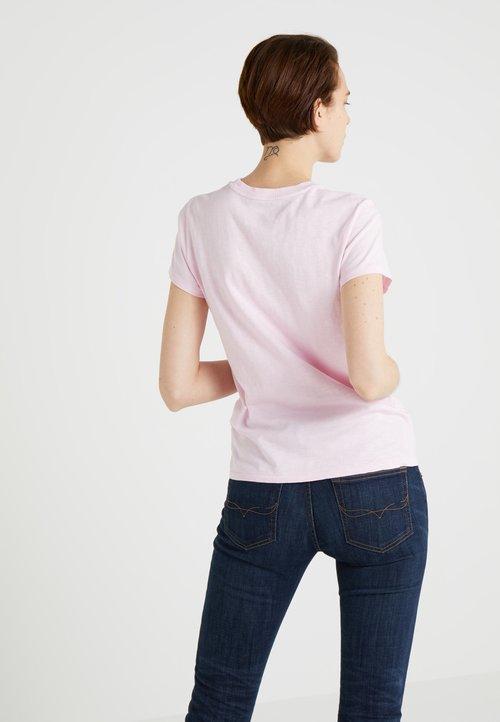 Polo Ralph Lauren T-shirt z nadrukiem - country club pink Koszulki i Topy IEBF-WK9 tani