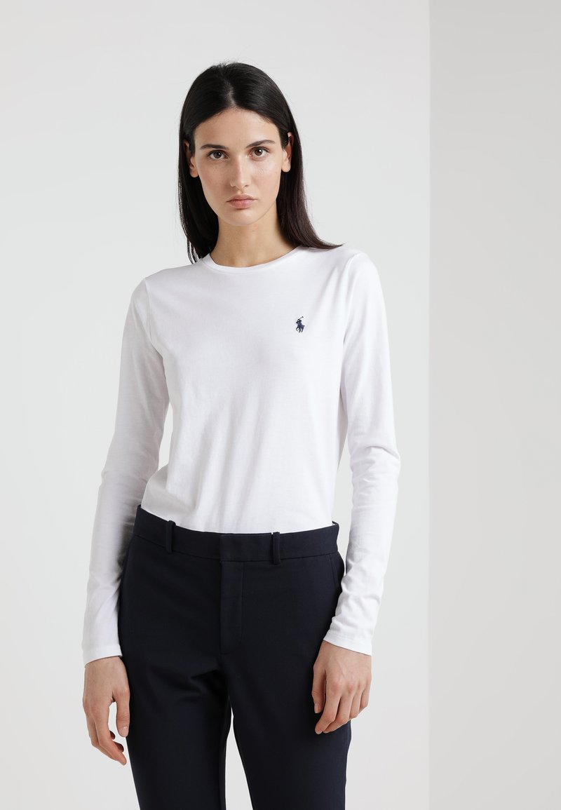 Polo Ralph Lauren - Bluzka z długim rękawem - white