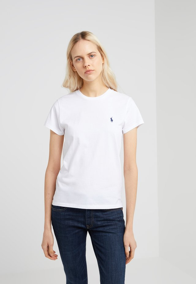 TEE SHORT SLEEVE - Camiseta básica - white
