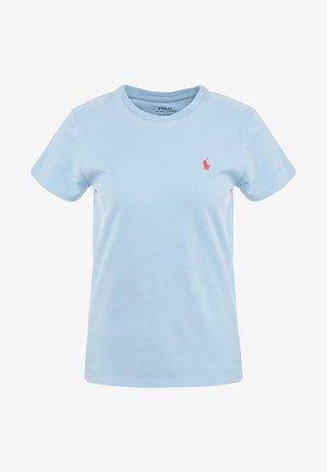 Jednoduché triko - powder blue