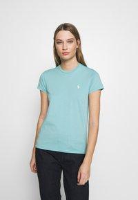 Polo Ralph Lauren - TEE SHORT SLEEVE - Basic T-shirt - deep seafoam - 0