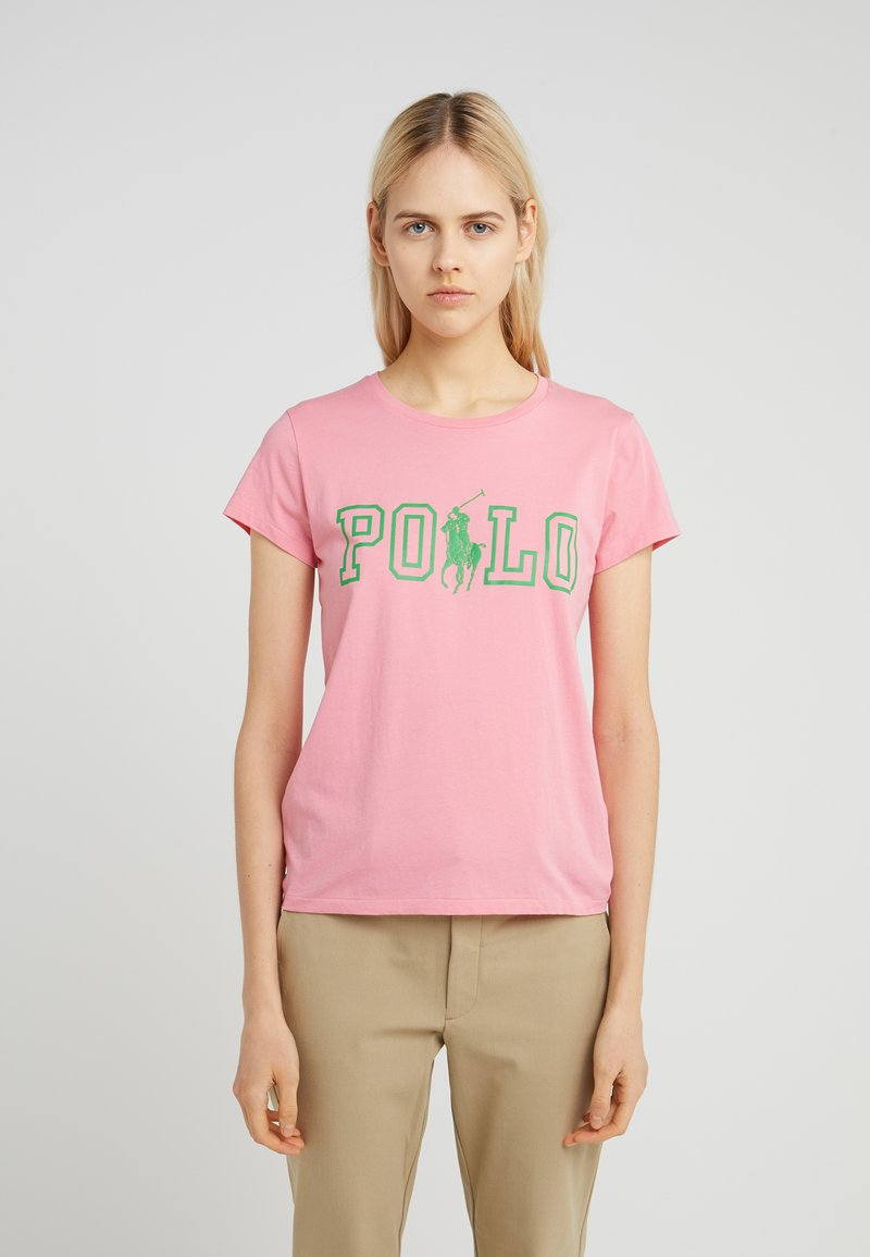 Polo Ralph Lauren - T-shirt con stampa - ribbon pink