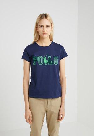 Camiseta estampada - newport navy
