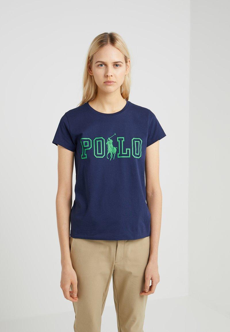 Polo Ralph Lauren - Print T-shirt - newport navy