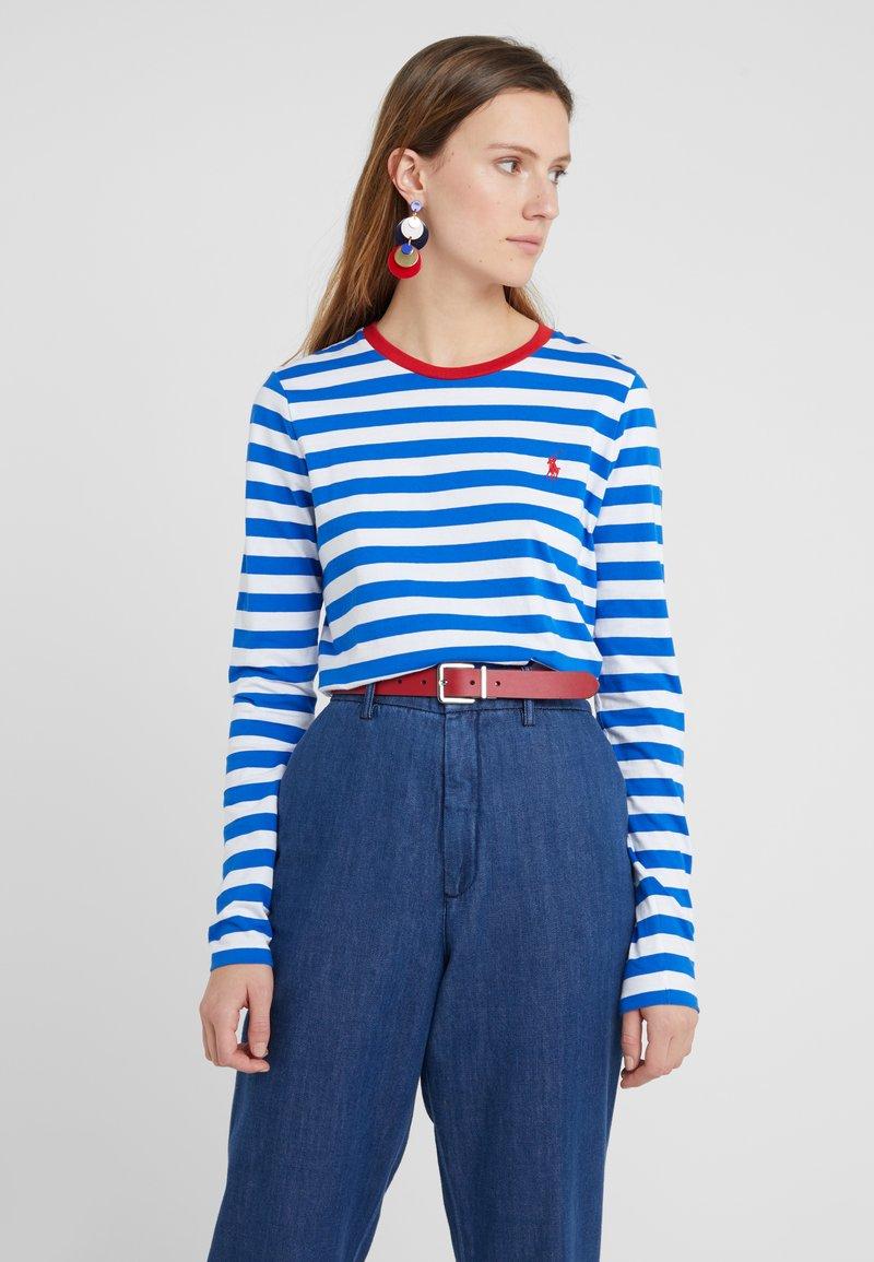 Polo Ralph Lauren - Bluzka z długim rękawem - heritage blue/white