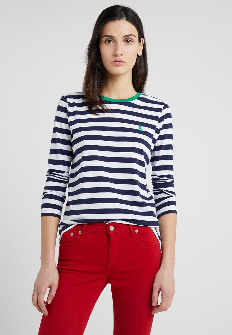 Polo Ralph Lauren - Maglietta a manica lunga - cruise navy/white