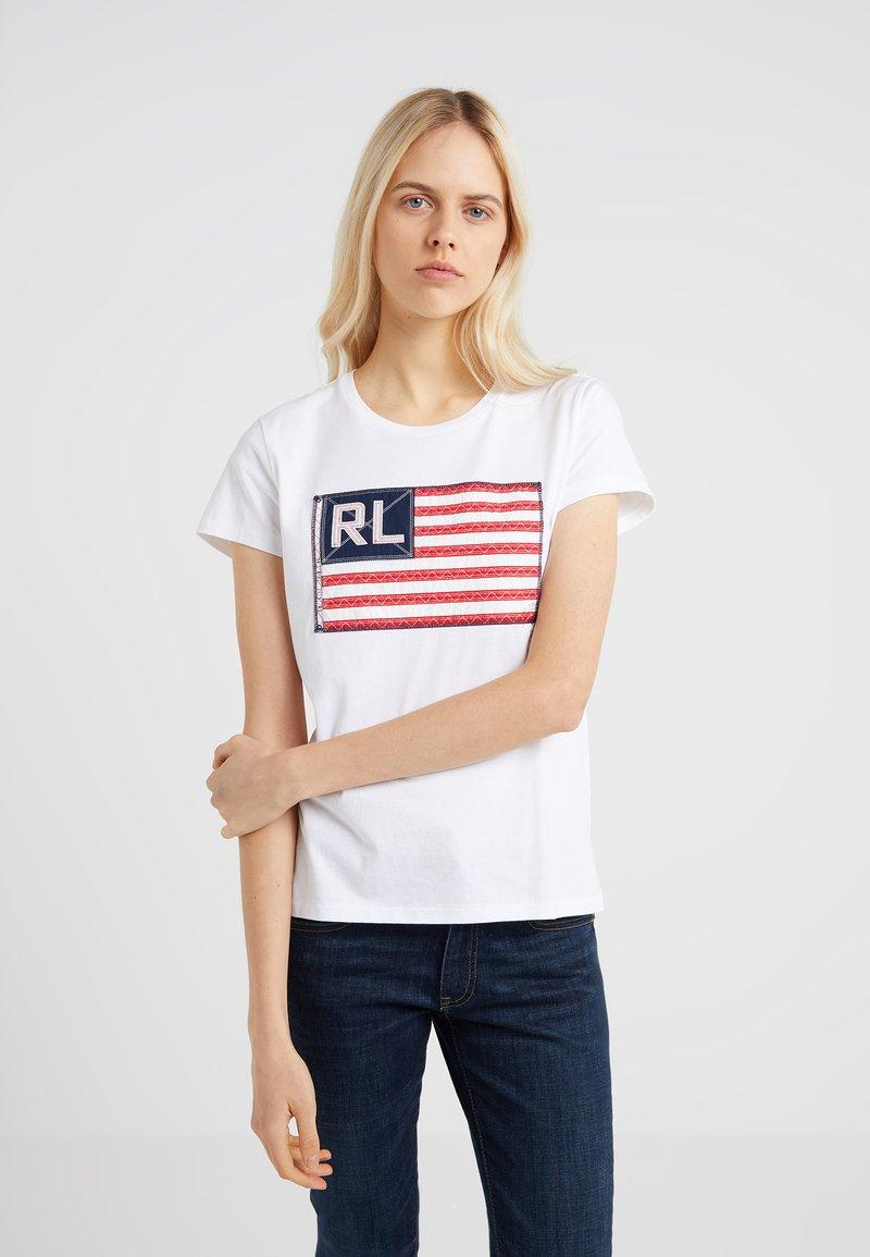 Polo Ralph Lauren - T-shirts med print - white