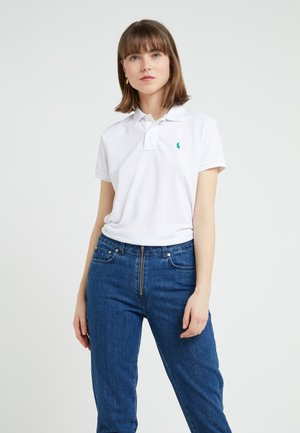 RECYCLED - Polo shirt - white