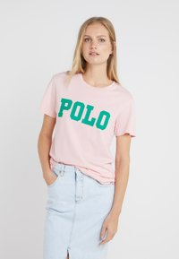 Polo Ralph Lauren - T-shirt con stampa - pink sand - 0