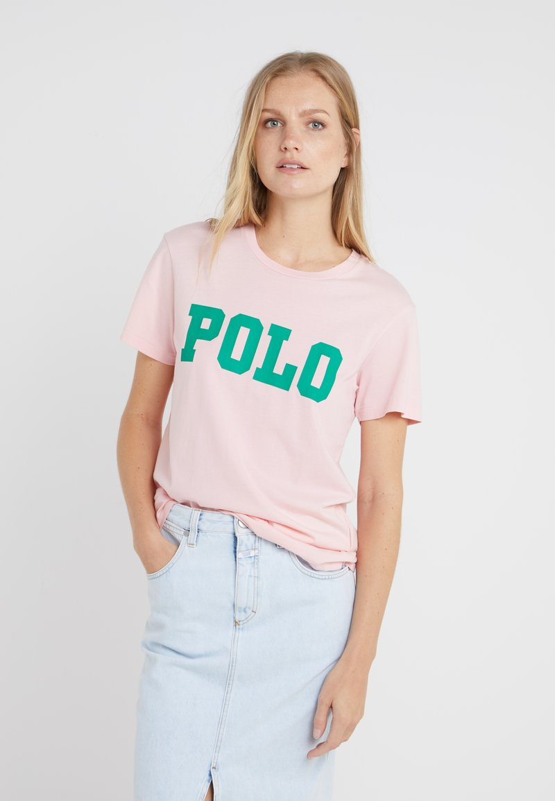 Polo Ralph Lauren - T-shirt con stampa - pink sand