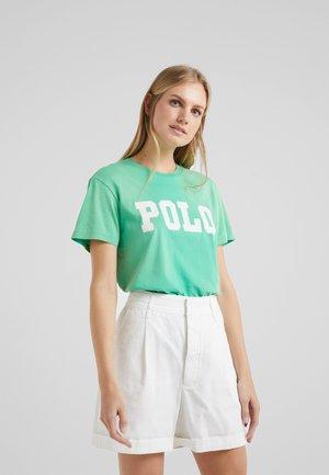 Camiseta estampada - vineyard green