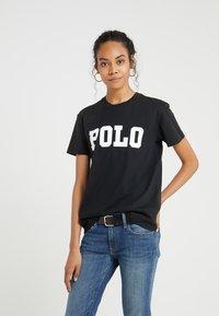 Polo Ralph Lauren - T-shirt z nadrukiem - black - 0