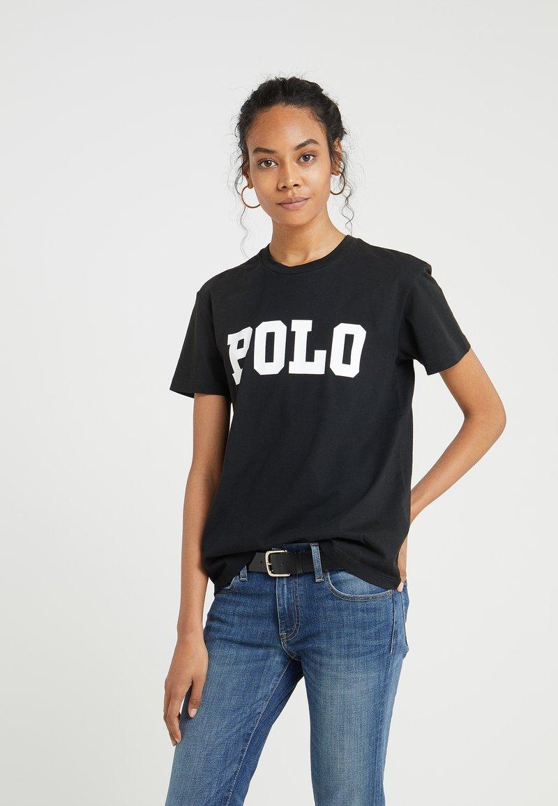Polo Ralph Lauren - T-shirt z nadrukiem - black