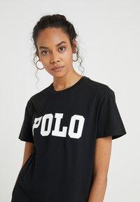 Polo Ralph Lauren - T-shirt z nadrukiem - black - 4