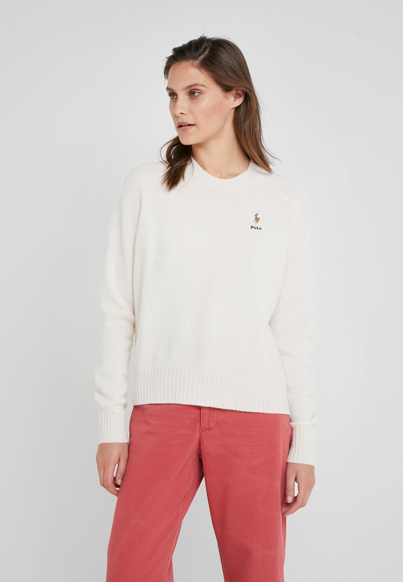 Polo Ralph Lauren - Strikkegenser - cream