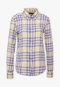 Polo Ralph Lauren - BRUSHED  - Button-down blouse - purple/yello - 3