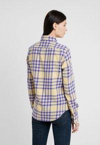 Polo Ralph Lauren - BRUSHED  - Button-down blouse - purple/yello - 2