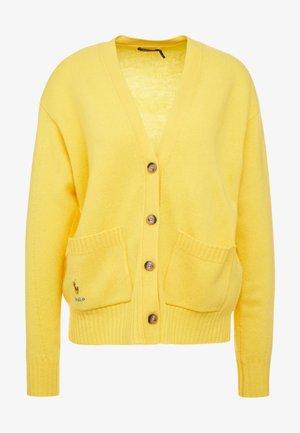 Kardigan - racing yellow