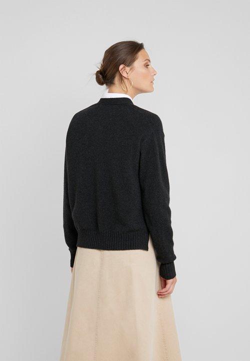 Polo Ralph Lauren Kardigan - charcoal heather Odzież Damska KYUU-HC5 trwałe modelowanie