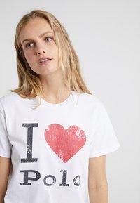Polo Ralph Lauren - Camiseta estampada - white - 4